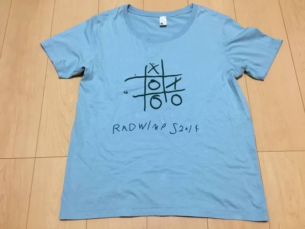 美品2014年RADWIMPSラッドウィンプスオフィシャルTシャツグッズ前前前世M ライブグッズの画像