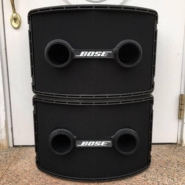 動作品 BOSE 802Ⅱ ペア セット ハードカバー付 ボーズ