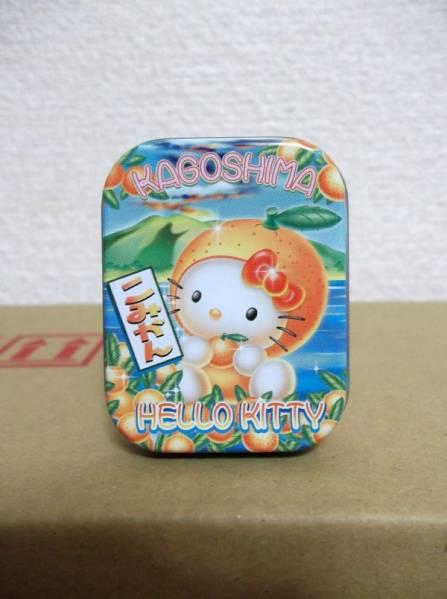 ◆『ハローキティ鹿児島限定こみかんバージョンミニ缶ケース』◆