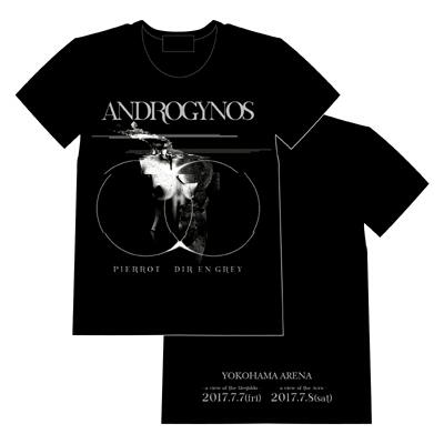 ANDROGYNOS、Tシャツ、DIR EN GREY、PIERROT、グッズ、アンドロジナス ライブグッズの画像