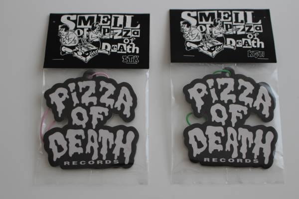 送料無料 PIZZA OF DEATH ピザオブデス  エアフレッシュナー 2枚  Hi-STANDARD ハイスタ WANIMA ワニマ ライブグッズの画像