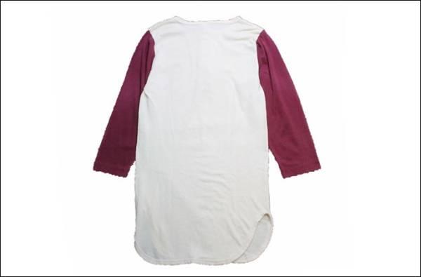 【SMALL】 80's Champion チャンピオン ベースボール Tシャツ USA製 7分袖 ヘンリーネック ビンテージ ヴィンテージ 古着 オールド TM31_画像2