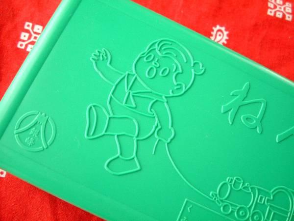 ◆昭和レトロ 銀峰印 ねんどいれ プラスチック 箱 小物入れ 1970年代 1980年代 _画像2