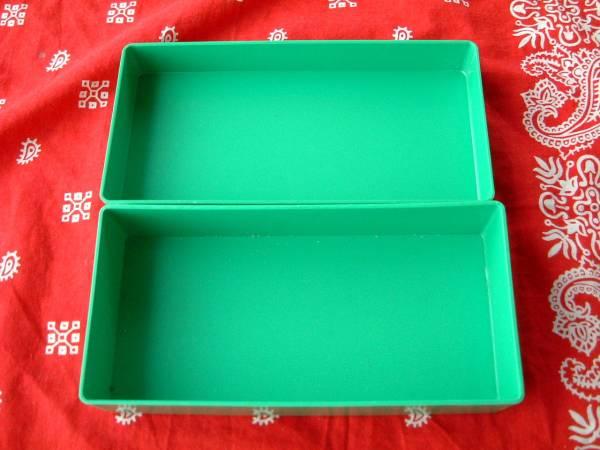 ◆昭和レトロ 銀峰印 ねんどいれ プラスチック 箱 小物入れ 1970年代 1980年代 _画像3