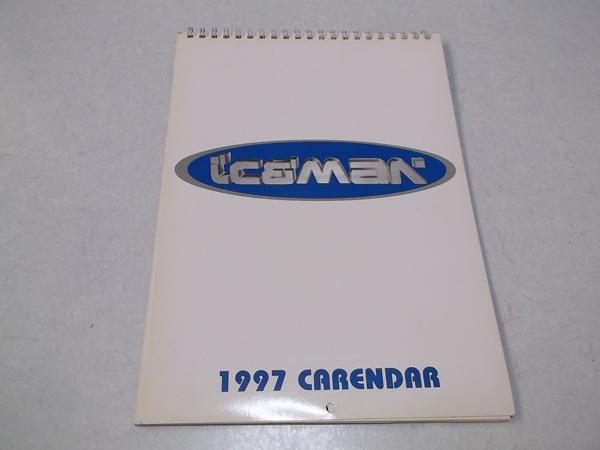 ▽ アイスマン Iceman 【 1997壁掛けカレンダー 】 浅倉大介 伊藤賢一 黒田倫弘
