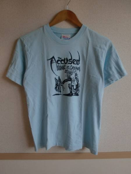80's★the accused アキューズド バンド Tシャツ panic in the casket ツアー