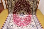 傢俱, 裝潢 - ペルシャ柄絨毯 150万ノット 新品未使用 160×230 訳あり アウトレット レッド