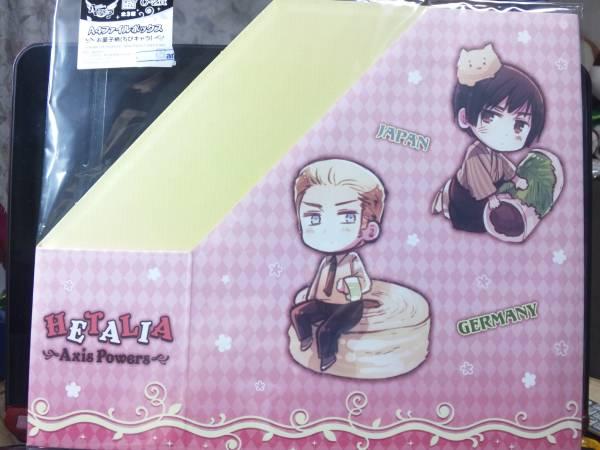 ヘタリア☆アニくじ☆A4ファイルボックス(お菓子柄ちびキャラ①) グッズの画像