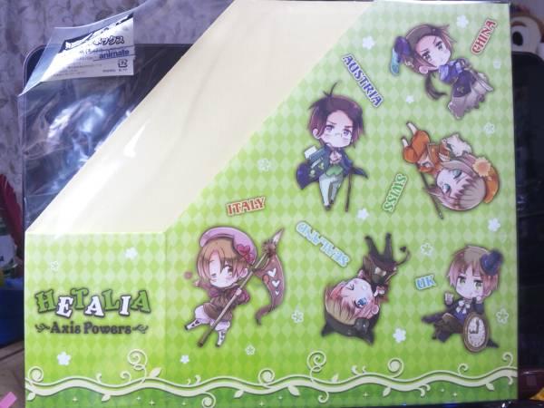 ヘタリア☆アニくじ☆A4ファイルボックス(トランプ柄) グッズの画像