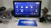 HDD楽ナビHRZ900 VGA・4×4フルセグ・ 地デジアンテナ一式新品・4倍速録音・DVD・オービスデータ入り☆動作保証★