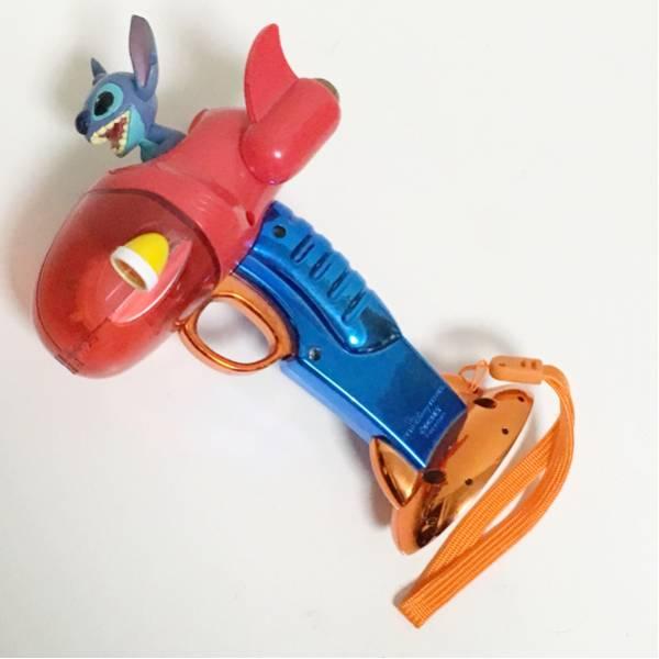 スティッチ 銃型光るおもちゃ ディズニー ライト ディズニーグッズの画像