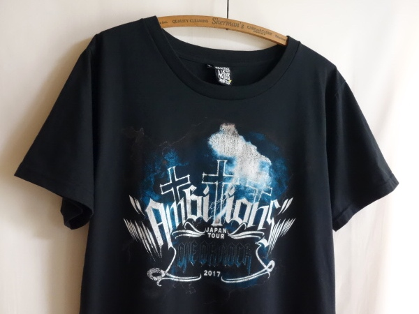 【one ok rock 2017 Ambitions JAPAN TOUR ツアー Tシャツ XL】type-C ワンオク