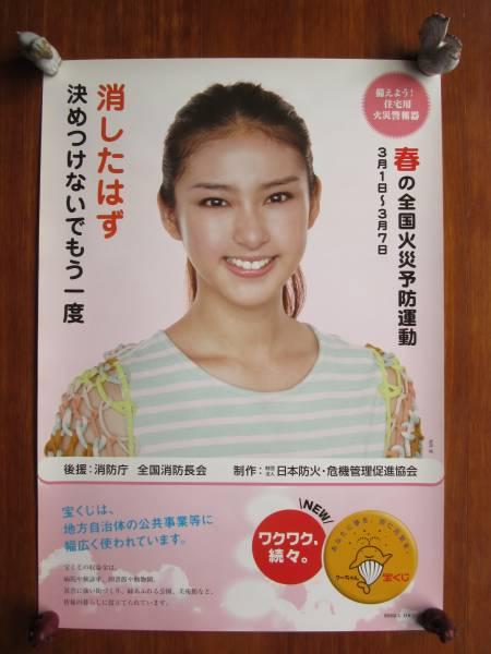 ◎武井咲◎ [防火週間] B2ポスター 2012年春 グッズの画像