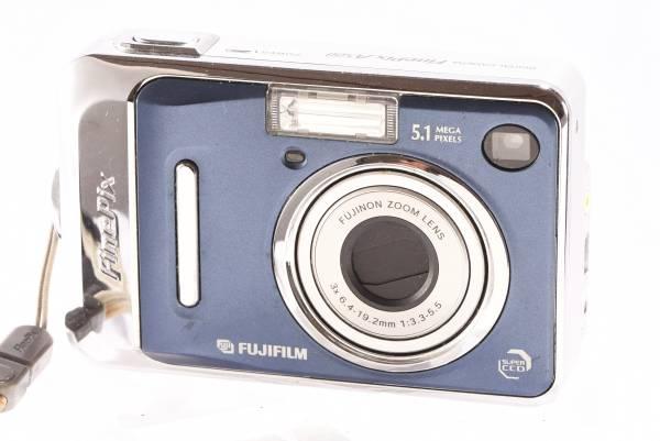 FUJIFILM FinePix A500 DIGITAL CAMERA 500万画素 動作品 格安 デジタルカメラ フジフィルム