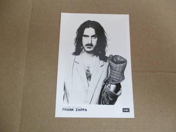 宣伝用写真 フランク・ザッパ Frank Zappa