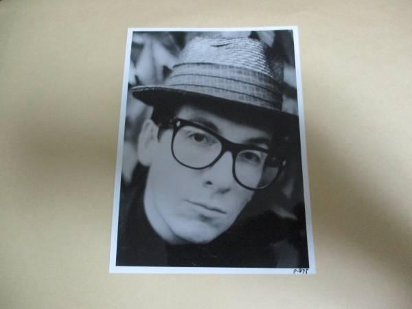 宣伝用写真 エルヴィス・コステロ Elvis Costello エルビス・コステロ