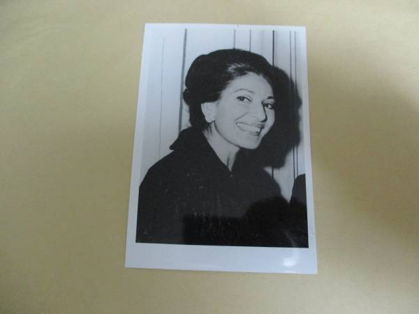 宣伝用写真 マリア・カラス Maria Callas