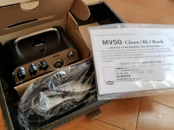 ほぼ新品 vox mv50 ac プリアンプ シミュレータ ac30_画像3