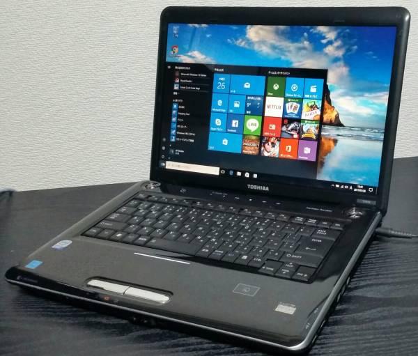 美送無【Win10 Office2013】AC付 dynabook Core2 HDD新品1000G