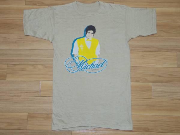 ビンテージ 80s■マイケル ジャクソン Michael Jackson■1984 プリント Tシャツ■ツアー パキ綿 vintage cd dvd