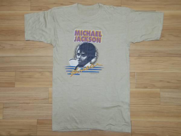 ビンテージ 80s■マイケル ジャクソン Michael Jackson■スリラー プリント Tシャツ■ツアー パキ綿 1984 thriller vintage cd dvd
