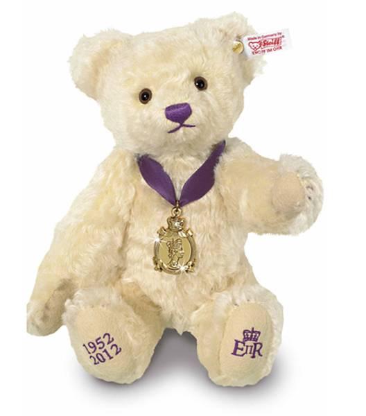 steiff(シュタイフ)/エリザベス ジュビリー/28㎝/限定2012体・2012年/テディベア/Diamond Jubilee Bear