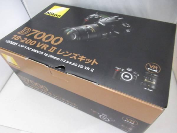500☆ニコン/Nikon D7000 18-200 VR II レンズキット 簡単な操作のみ確認済み/ジャンク扱い 外箱付/カメラ