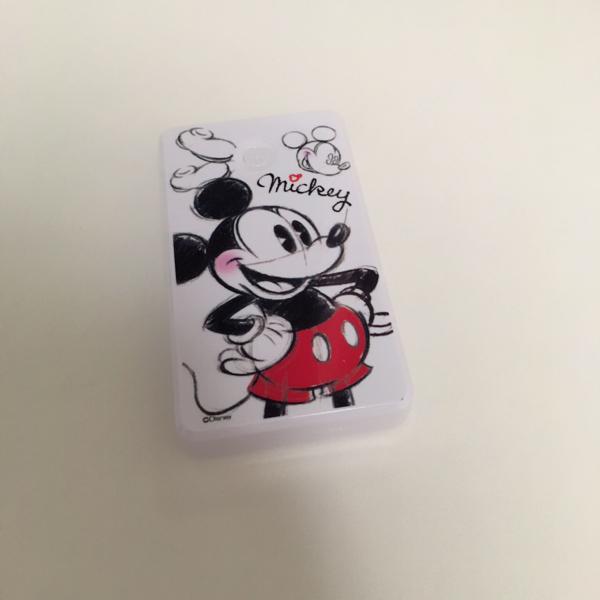 モバイルバッテリー ミッキーマウス ディズニーグッズの画像