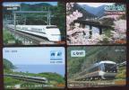 使用済みオレンジカード (JR東海)ワイドビューひだ、しなの、南紀、キハ80系8枚 & オレンジカードメモリ