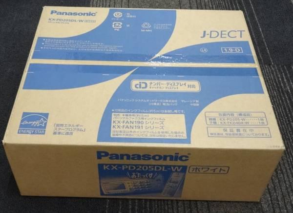 新品未開封 パナソニック おたっくす KX-PD205DL-W ホワイト