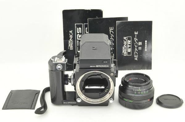 〓良品〓BRONICAブロニカ ETR S AE2 ZENZANON 75mm F2.8 MC #2390_画像3