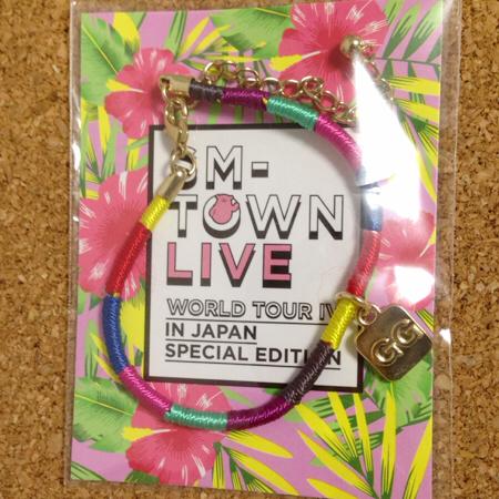 ◆smtown2015◆少女時代 ミサンガ 未開封 GG/テヨン ユナ ティファニー ユリ スヨン サニー CD トレカ サイン Blu-ray DVD