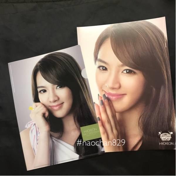 ◆SMTOWN◆ヒョヨン クリアファイル ポスターセット 2010 2011 少女時代/ユナ テヨン ジェシカ スヨン ティファニー CD Blu-ray トレカ