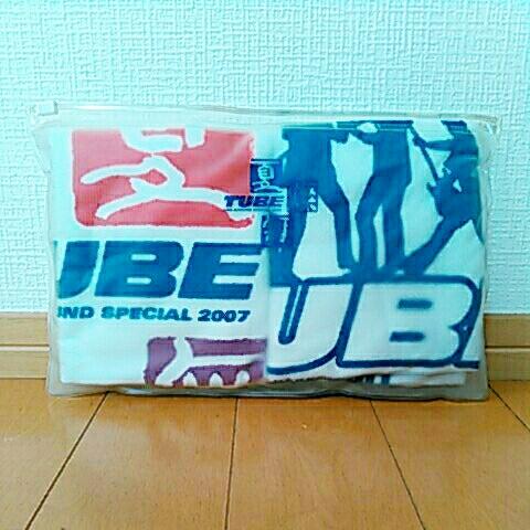 TUBE Live Around Special 2007 『夏燦舞』ミニタオル 2枚セット 未使用 未開封 前田亘輝 春畑道哉 角野秀行 松本玲二