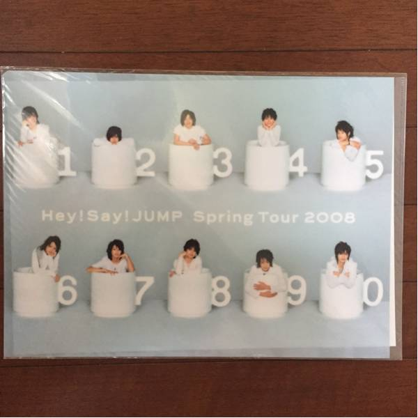 Hey!Say!JUMP springツアー 2008 グッズ クリアファイル コンサートグッズの画像