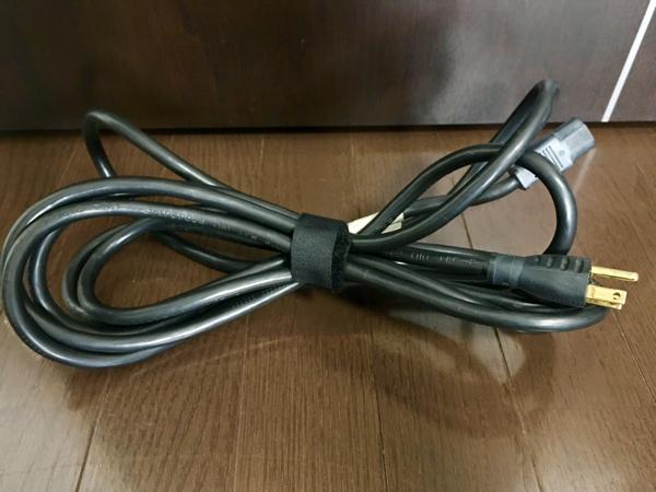 プロ用 BELDEN ベルデン 14AWG 極太真鍮非メッキ電源ケーブル 珍しい4メートルの長さ S