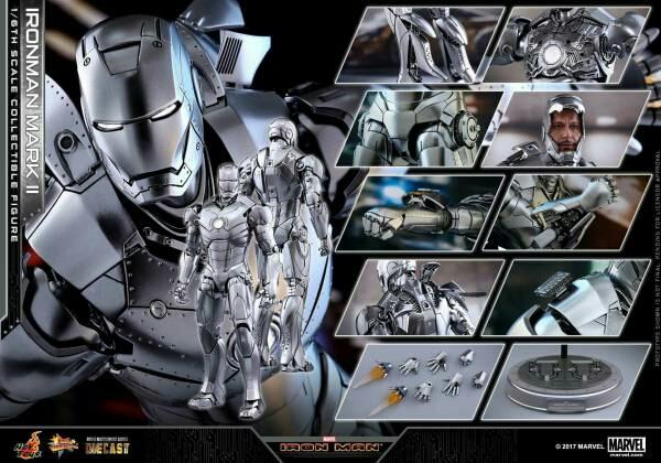 ホットトイズ アイアンマン マーク2 ダイキャスト 通常版 グッズの画像