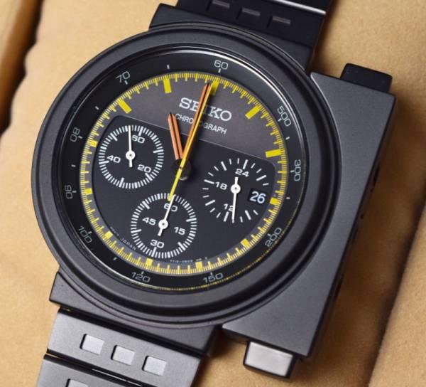 新品 セイコー スピリット ジウジアーロ デザイン エイリアン リプリー 限定品 ブラック×グレー 腕時計 SEIKO SPIRIT GIUGIARO DESIGN