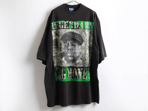 ビッグサイズ4XL 人気のブラックUSA製■The Notorious B.I.GプリントTシャツ/HIPHOP ギャングスタラップ