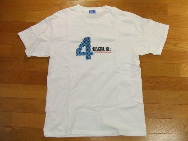 ハスキングビー HUSKING BEE Tシャツ SIZE:L 送料180円~FOUR COLOR PROBLEM TOUR 2000-2001