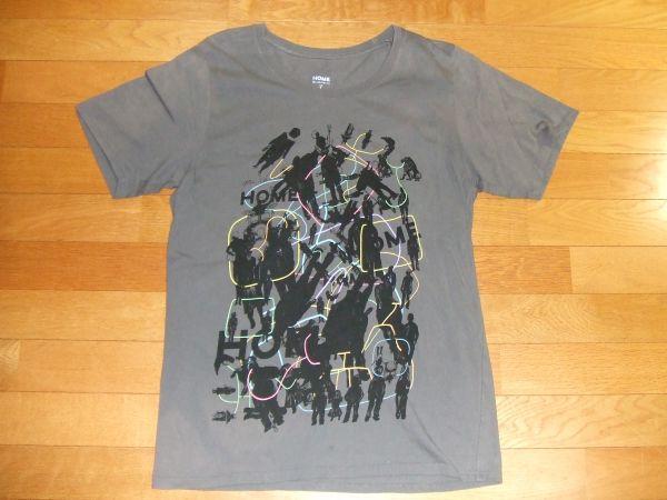 Mr.Children HOME TOUR ミスチル ライブTシャツ SIZE:L グレー 送料180円~