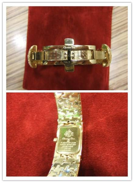 【☆本物美品◆クリスチャンディオール レディース腕時計 BY6814 クオーツ バングルタイプ ♪】_画像2