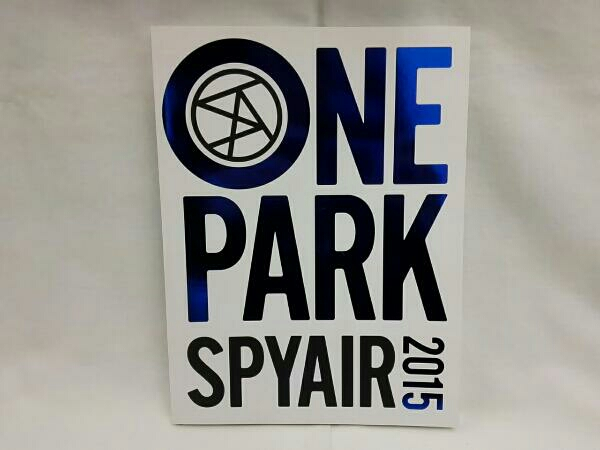 SPYAIR ONE PARK 2015 写真集 ポストカード付き ライブグッズの画像