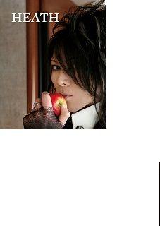 X JAPAN HEATH poster C 直筆サイン HEATH ポスター