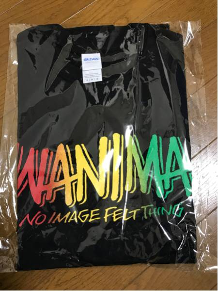 wanima ワニマ Tシャツ 京都大作戦 M ブラック ライブグッズの画像