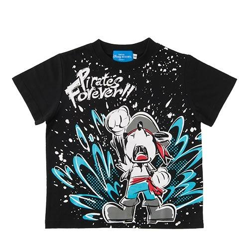 東京ディズニーシー パイレーツサマー Tシャツ ミッキー プルート スプラッシュ 新品 Mサイズ ディズニーグッズの画像