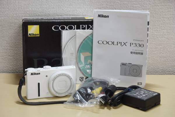 【Nikon COOLPIX P330 ホワイト】