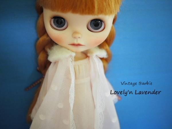 ヴィンテージバービー#3358 Lovely'n Lavenderナイティセット