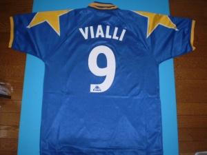 元イタリア代表 ジヤンルカ・ビアリ 95-96 ユベントス アウェイ 実使用アウェイユニフォーム グッズの画像