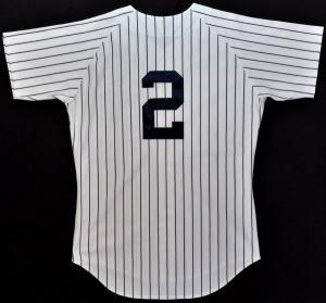 デレク・ジーター 1997年 NYヤンキース 実使用ホームユニフォーム グッズの画像